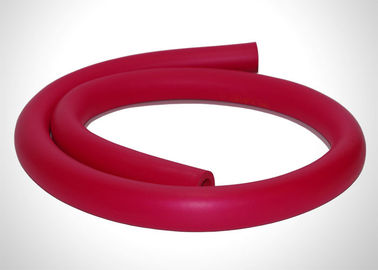 Red Color Water Heater Pipe Insulation / Air Conditioning Copper Tubing Insulation