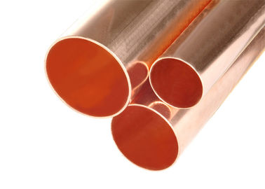 Custom Size Copper Refrigeration Tubing Copper Plumbing Pipe Air Conditioning Copper Tubing Smooth Surface