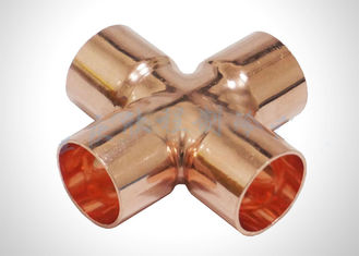 Copper HVAC ASTM 32Mpa Refrigeration Pipe Fittings